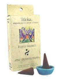 Incense Cone Assorted triloka incense cones assorted fragrances incense cones