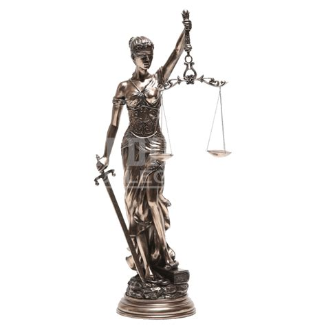 Harley Home Decor by Bronze Lady Justice Statue Cc8981 By Medieval Collectibles