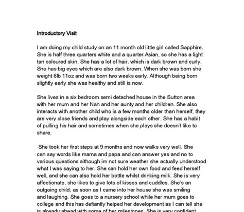 Child Study Essay by Essay Cover Letter Study Essay Exle Study Paper Write Study Report