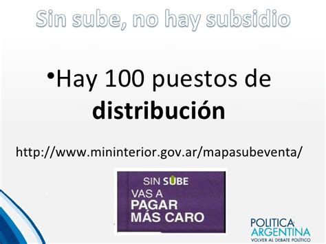 sube gob ar registrar subsidio sin sube no hay subsidio