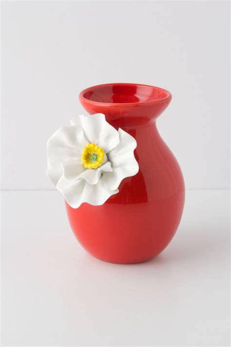 Anthropologie Vase by White Poppy Vase Anthropologie