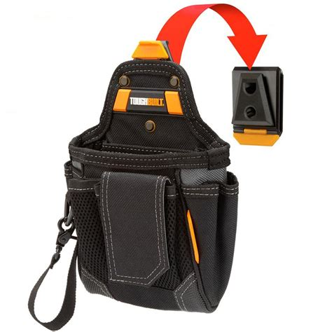 klein tools 8 pocket capacity tool pouch 5162t the