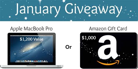 1000 Amazon Gift Card Giveaway - giveaway macbook pro or 1000 amazon gift card butter believer