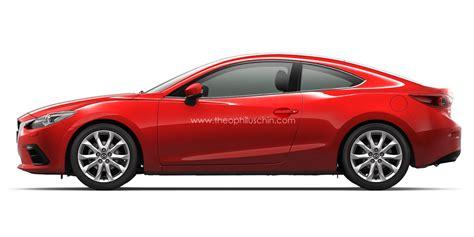 mazda 3 sport coupe mazda3 coupe rendered autoevolution