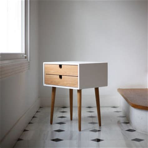 solid oak bedside table contemporary scandinavian style snuginteriors white nightstand bedside table from habitables home
