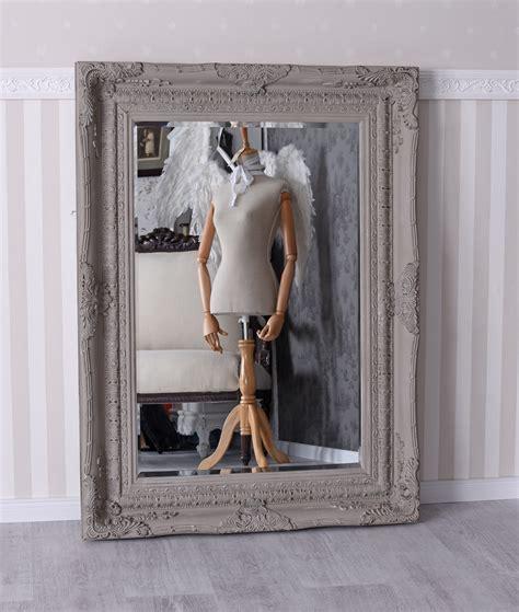 chalk paint ebay wall mirror antique chalk paint mirror shabby chic wall