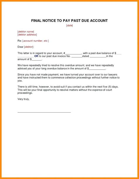 cancellation letter due to unforeseen circumstances past due letter past due invoice template vehicle