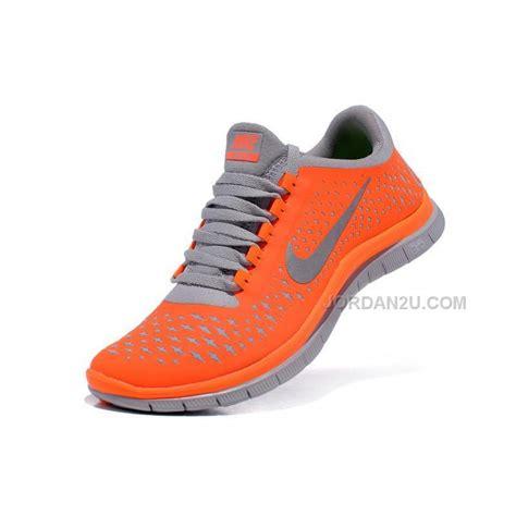 orange womens nike shoes nike free run 3 0 v4 womens shoes orange grey price 69
