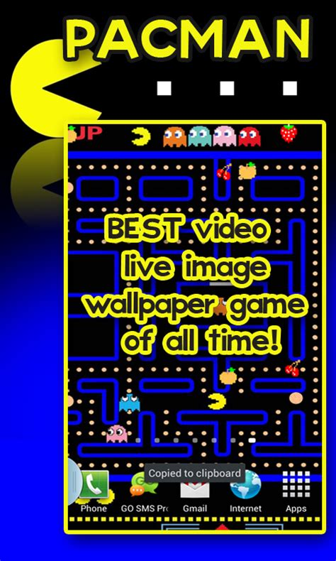 pacman apk free pacman live image wallpaper free apk for android getjar