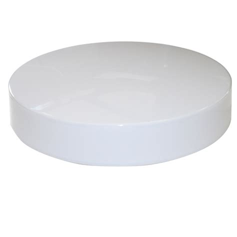 Plastic Light Fixture Covers Sunlite 11in White Plastic Cover For Fixture With 8in Fc8t9 Circline Bulb Ebay