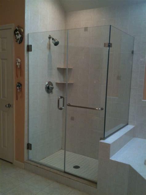 Interesting Tile Ideas For The Small Bathroom Glass Shower Door Towel Bar
