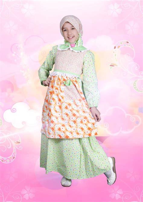 Gamis Anak Kode Ga 06ga 10 Size S L aini 120906 hijau baju muslim gamis modern