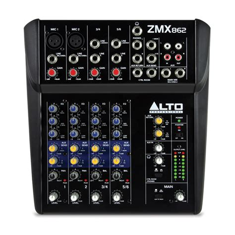 Mixer Alto 32 Channel alto zephyr zmx862 6 channel compact mixer at gear4music