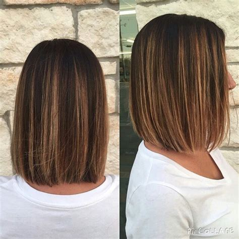 Light Brown Hair Ideas 20 Amazing Blunt Bob Hairstyles For Women Mob Amp Lob Hair