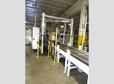 Wulftec WCRT-200 Automatic Pallet Wrapper with Conveyors ... Panelview Plus 600