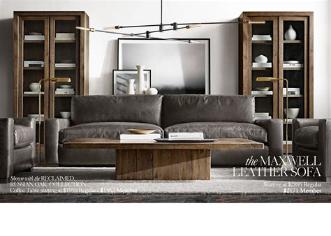 restoration hardware membership restoration hardware the reclaimed russian oak collection