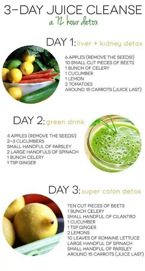 Dr Oz Detox 3 Day Juice by 3 Day Detox Smoothies Juicing