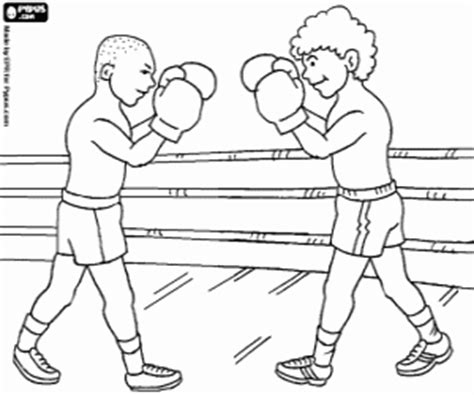 Combat sports coloring pages printable games