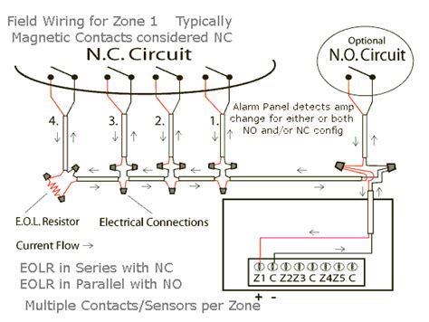 diagram for wiring chain door contact 43 wiring