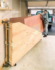 storage idea small wood shop ideas