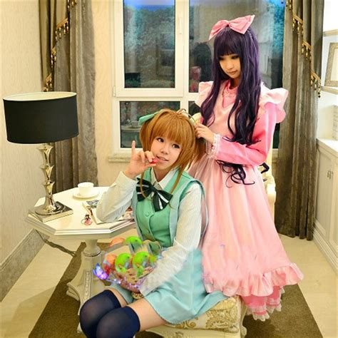 Costume Daidouji Tomoyo Cardcaptor cardcaptor kinomoto daidouji tomoyo costume dress bowtie ebay