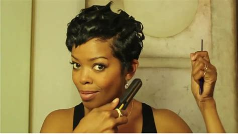 how mentain ethnic pixie cut 17 best images about malinda williams short n sassy on