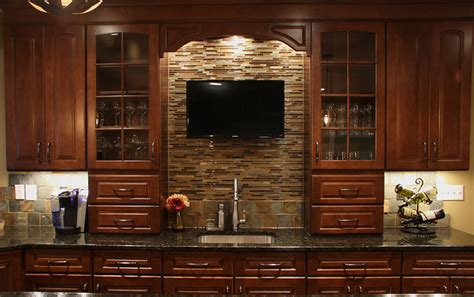 Remodel Ideas For Bathrooms by Basement Wet Bar Traditional Basement Dc Metro By