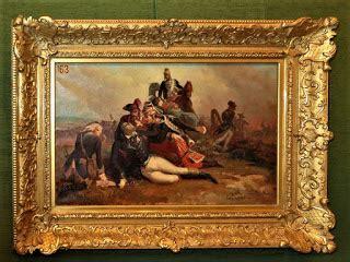 Tête De Lit Blanche 1740 by Peintures Des Mus 233 Es De Chateauroux