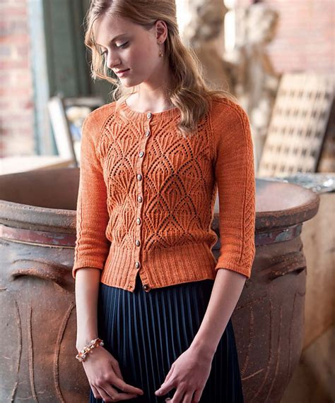Jv Siderose Top Fit L stylish knits lace cardigan