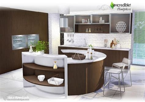 My Home Design Cheats by Hemisphere Kitchen At Simcredible Designs 4 187 Sims 4 Updates