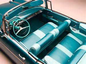 57 chevy bel air interior