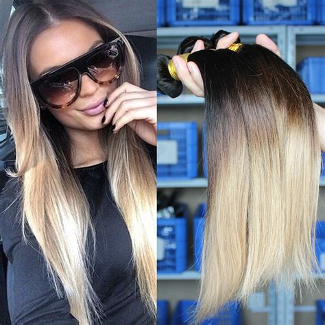 ombre weave hair extensions popular ombre weave aliexpress