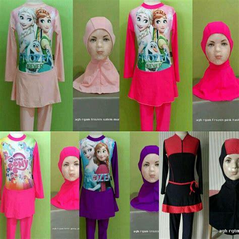 Baju Renang Wanita 3 list harga baju renang muslim anak wanita termurah juli