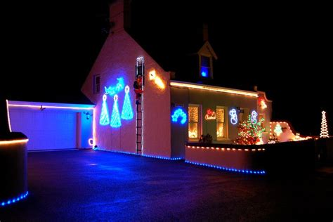 bbc in pictures christmas lights in the bailiwick