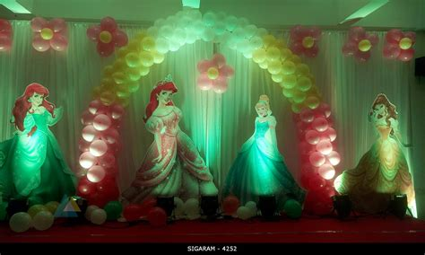 Cinderella Decorations by Cinderella Themed Birthday Decoration At Bonsejure Hotel