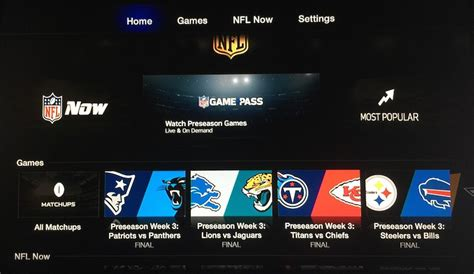 nfl pass mobile app apple tv gains updated nfl channel with pass