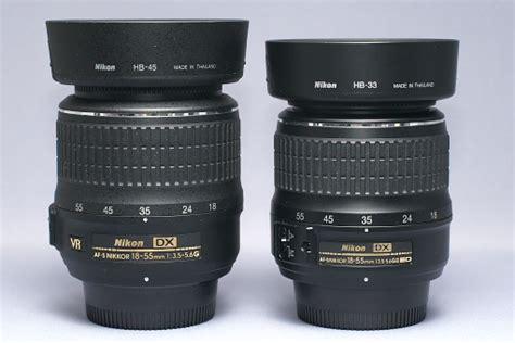 Hb 33 Hb 45 Mod 2 For Nikon Af S Dx18 55mm F35 45g Ed hb 45 日々 お と思ったこと