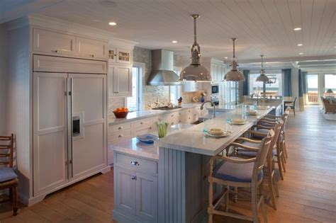 metropolitan home kitchen design beach house beach style kitchen other metro by