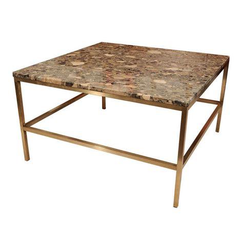 Coffee Tables With Granite Tops Granite Top Coffee Table Att Harvey Probber At 1stdibs