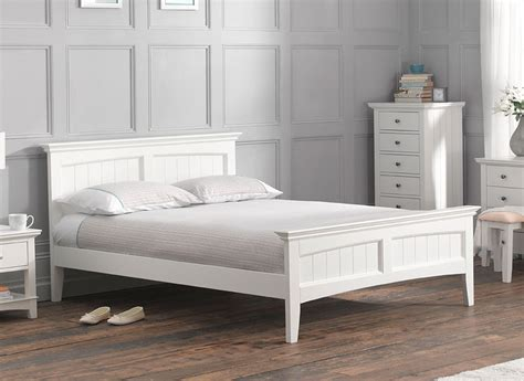 White Bed Frame Get A White Bed Frame At Macys Metal Bed Frame White