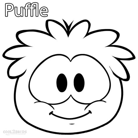 Puffles Coloring Pages printable puffle coloring pages for cool2bkids