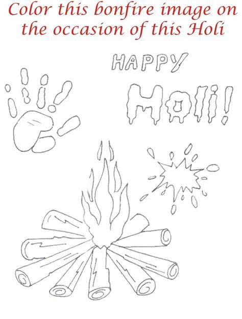 Holi Coloring Printable Page For Kids 27 Holi Colouring Pages