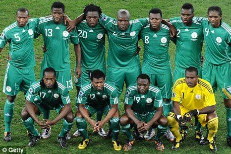 nigeria football team president bans national team from again