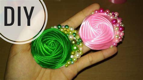 cara membuat gelang mutiara diy cara membuat bros rose bund mutiara tutorial
