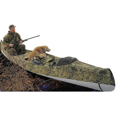 duck blind boat cover classic 174 canoe blind and cover 121991 boat covers at