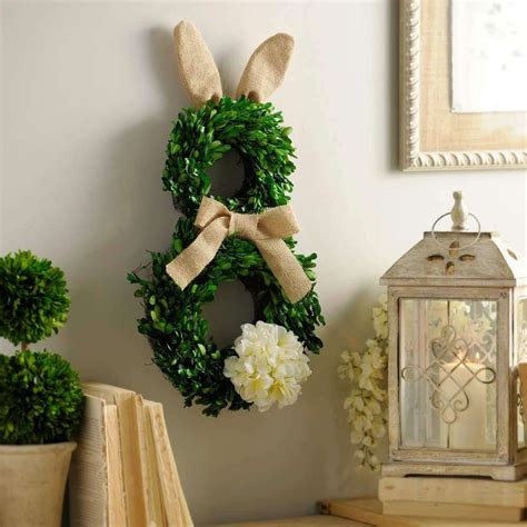 diy wreath ideas diy easter decorations 17 ideas how to make a cute easter