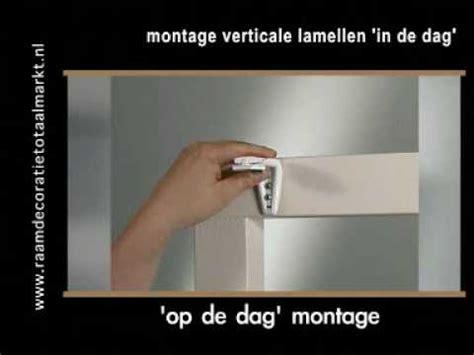 paneelgordijnen bevestigen verticale lamellen youtube