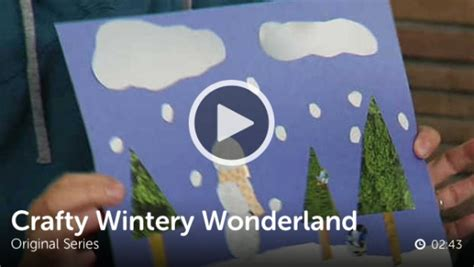 crafting  wintery wonderland   takes