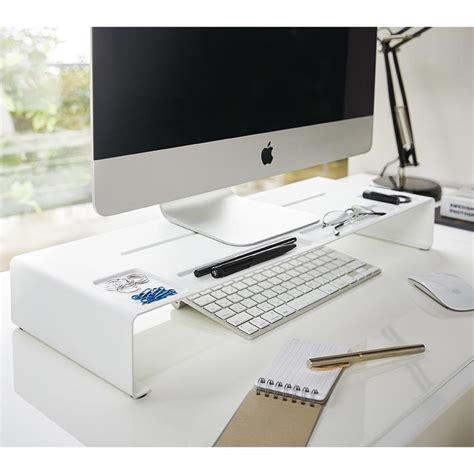bureau ecran noir r 233 hausseur d 233 cran organiseur de bureau monitor stand