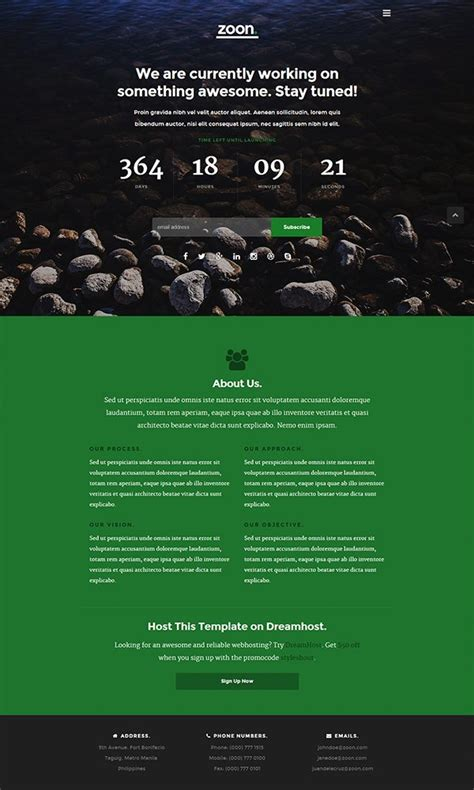web page construction template free top 15 free website construction coming soon templates